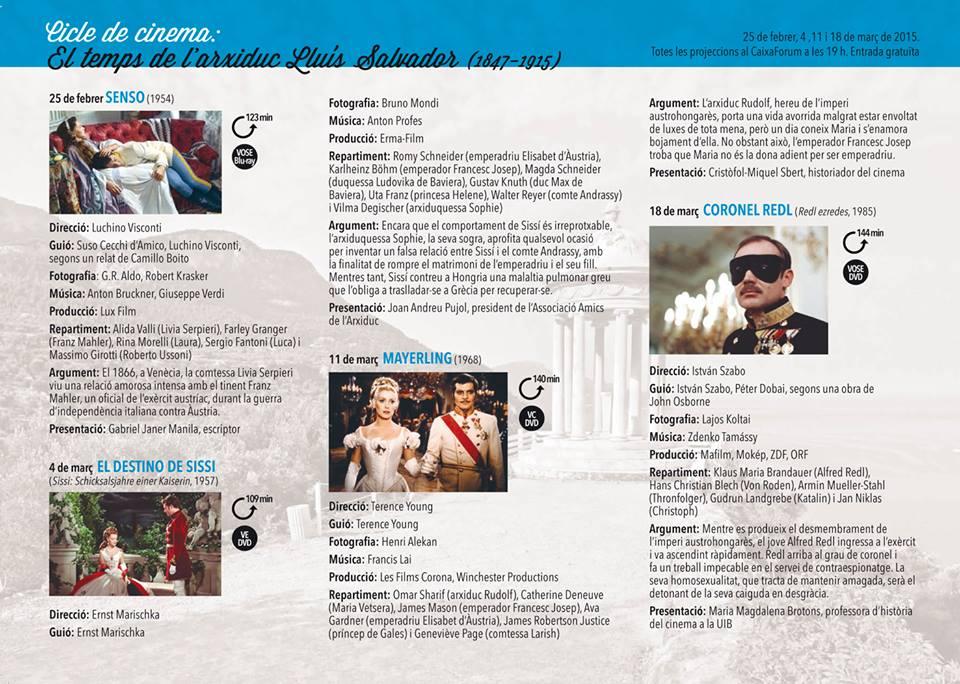 Cicle cinema ASIM 2015